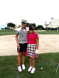 Izzy M. Pellot had a great time meeting & practicing with the #1 Rolex Ranking Lydia Ko.