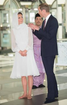 Pin for Later: The 70 Best Kate Middleton Moments of All Time Kate and William visited the Assyakirin Mosque in Kuala Lumpur, Malaysia, during the couple's Asia tour in September 2012.