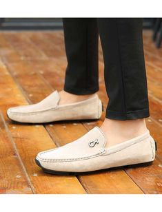 Khaki music buckle leather slip on shoe loafer Mens Slip On Loafers, Mens Slip On Shoes, Leather Slip On Shoes, Loafers Men, Loafers Online, Shoe Shop, Loafer Shoes, Laos, Oxford Shoes