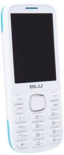 BLU Jenny TV 2.8 T276T Unlocked GSM Dual-SIM Cell Phone w/ 1.3MP Camera - Unlocked Cell Phones - Retail Packaging - White Blue