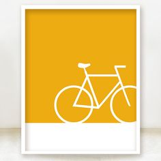 Bicycle Icon Print  8x10 Teal  You can by spoiledroyalstudio, $15.00