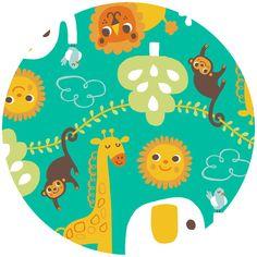 Happy Jungle main pattern