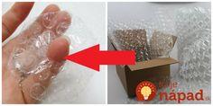 Tiež ste dostali balík zabalený v bublinkovej fólii? Určite ju nevyhadzujte, okrem ochrany tovaru má totiž táto fólia skvelé možnosti, ktoré doma určite využijete.