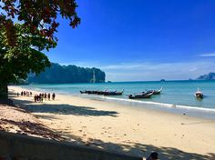 Don't Miss This in Krabi! Thailand Adventure, Thailand Travel Tips, Asia Travel, Ao Nang Krabi, Railay Beach, Krabi Thailand, White Sand Beach, Travel Destinations, Things To Do