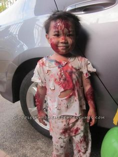 Bloody Child Zombie Costume... This website is the Pinterest of costumes