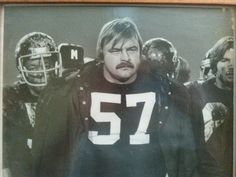 Found this dick butkis photo inside of a book in a museum that was closed down. He play for the Chicago Bears defense