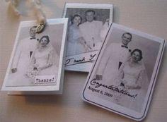 Vintage wedding photo magnetic bookmark tutorial   DuctTapeAndDenim.com