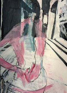 Mila Plaickner (Götzis, Österreich, Austria) - Back View, 2014 Drawings… Kunst Inspo, Art Inspo, Pretty Art, Cute Art, Figure Painting, Painting & Drawing, Figurative Kunst, Grafik Art, Life Drawing