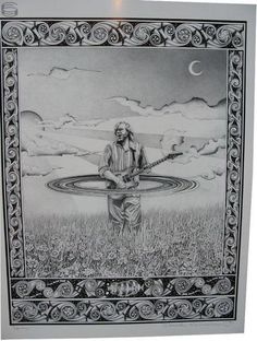 Trey Anastasio poster signed by artist for sale
