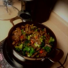 As promised, a major factor in our evolution to the NuWave Now name is the ability to bring you great NuWave PIC fan photos, like this one sent to us by Nikki W. She made a delicious stir-fry composed of beef, broccoli, carrots, peppers and rice.  Don't forget to send us photos of your PIC-made dishes, as well as your NuWave Oven creations by emailing facebook@hearthware.com.