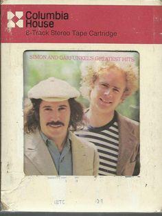 SIMON & GARFUNKEL Greatest Hits 8 TRACK TAPE MUSIC ALBUM
