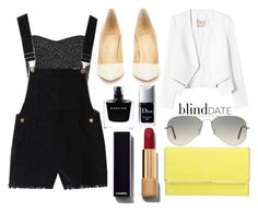 """Untitled #200"" by larryisrealforever ❤ liked on Polyvore featuring Rebecca Taylor, Christian Louboutin, Henri Bendel, Ray-Ban, Chanel, Narciso Rodriguez and Christian Dior"