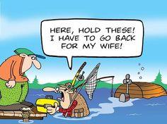 #Fishing #cartoon by