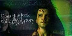 Alice: Hatter. Andrew Lee Potts - aka the sexiest Hatter EVER. If you don't agree, You. Are. Wrong!