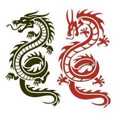 Asian Dragon SVG Cuttable Design