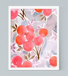 Persimmon Fine Art Print