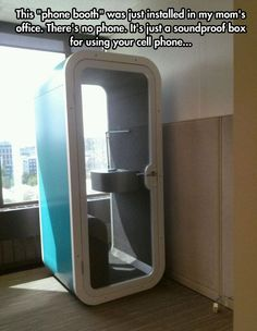 Privacy Box, these should be required by law EVERYWHERE. If you're in public, you'd have to use this or be fined.