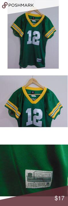Reebok Women s XL Aaron Rodgers Green Bay Packers Reebok Women s XL Aaron  Rodgers Green Bay Packers 8ba5f0e08