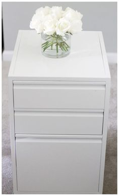 Small File Cabinet Organization