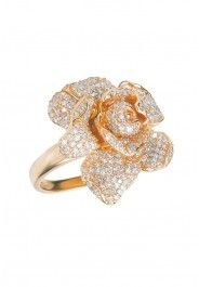 Jardin Bloom Diamond Ring in Rose Gold, 1.12 TCW