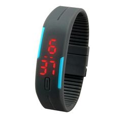 New Ultra Thin Men Girl Sports digital-watch Silicone Digital LED Sports Wrist Watch relogio feminino relogio masculino