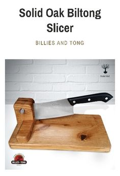 Olive Wood Biltong Slicer Jerky Salami South Africa Braai BBQ Vegetable Cutter