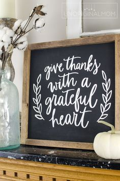 Reversible Thanksgiving and Christmas Farmhouse Sign - unOriginal Mom Thanksgiving Wood Crafts, Thanksgiving Signs, Thanksgiving Decorations, Christmas Crafts, Fall Decorations, Happy Thanksgiving, Christmas Stuff, Christmas Holiday, Christmas Ideas