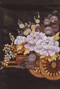 日本刺繍ギャラリー《研究コース作品》    日本刺繍 紅会(くれないかい)