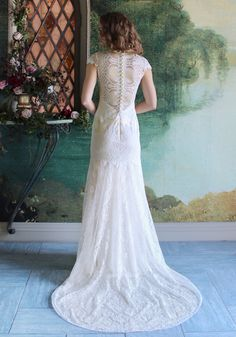 Claire Pettibone Romantique 'Dixie' wedding dress at #TheCastle