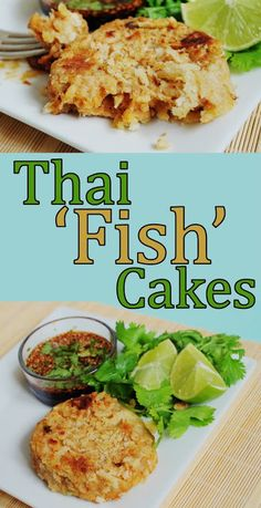 "Thai vegan ""Fish Cakes"""