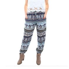 3bb71a83dcb2c Piney+Co Harem Pants for Women Thai Elephant Pants