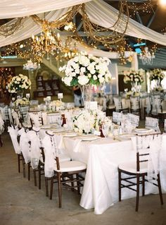 Wedding Reception { r u s t i c  l i g h t i n g }