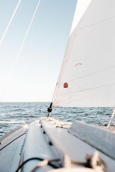 Summer boat vibes sailing out on the water. Spending the summer days afternoons evenings sailing out on the ocean.