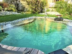 Natural Swimming Pools, Above Ground Swimming Pools, Above Ground Pool, In Ground Pools, Inground Pool Ladder, Oberirdische Pools, Pool Rules, Small Pool Design, Stock Tank Pool