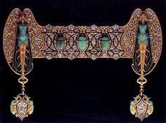 Lalique, ornement de corsage, 1897-99
