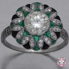 Platinum Ring Setting