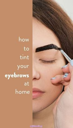 While you can get your brows professionally done at a salon, there's also tons … – microblading eyebrows Darken Eyebrows, Henna Eyebrows, Eye Brows, Shape Eyebrows, Bold Brows, Benefit Brow, Benefit Makeup, Eyebrow Tinting Diy, Eye Makeup