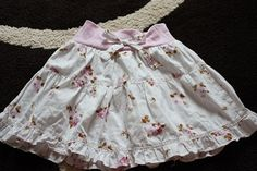 Tutorial: Baby dress turns todler skirt