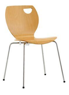 Krzesło sklejkowe Cappucino - Nowy Styl | DB Meble #meble #cappucino #krzesla #nowystyl  http://dbmeble.pl/produkty/krzeslo-sklejkowe-cappucino/