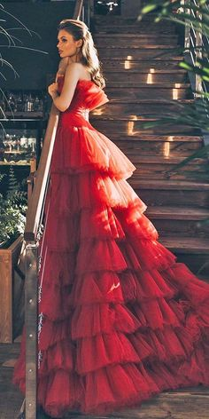 Red Ball Gowns, Ball Gowns Evening, Red Gowns, Ball Gowns Prom, Ball Gown Dresses, Prom Dresses, Elegant Ball Gowns, Elegant Gown, Bridesmaid Gowns