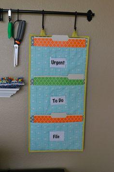 Lori Hartman Designs: Girl Friday Sews: File Folder Organizer Tutorial and a Giveaway! File Folder Organization, Bill Organization, Sewing Room Organization, Organizing, Organisation Ideas, Classroom Organization, Sewing Tutorials, Sewing Crafts, Sewing Ideas