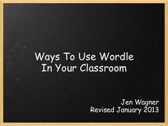 Wordle Ideas