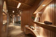 ~ One Taste Holistic Health Club Interior Design #spa #health #club #organic #design
