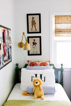 Another great kids room, fun mix of colors that work great for a boy or girl, kid room decor