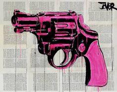"""Saatchi Art Artist Loui Jover; Drawing, """"pop gun"""" #art"""