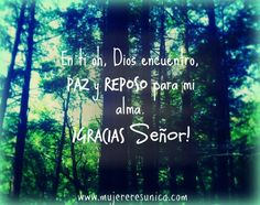 Paz y Reposo www.mujereresunica.com