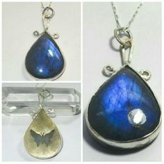 Blue fire Labradorite