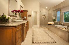 Westlake Village Bathroom Westlake Village, West Lake, Bathtub, Mirror, Interior Design, Bathroom, Furniture, Home Decor, Standing Bath