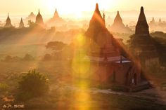 Bagan - Myanmar Myanmar Travel: The best 10 destinations Beautiful Places To Visit, Wonderful Places, Most Beautiful, Myanmar Travel, Bagan, Photo Essay, Vacation Trips, In This World