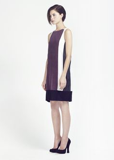 Love this easy to wear silk dress from Christopher Waller.